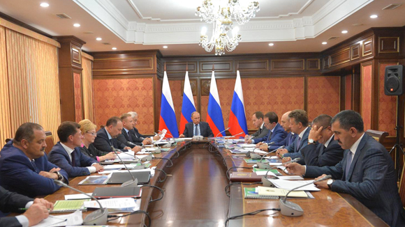 Путин остался недоволен развитием социальной сферы в Ингушетии