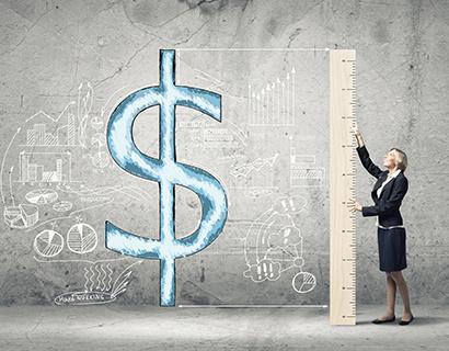 Биржевой курс доллара превысил 65 рублей