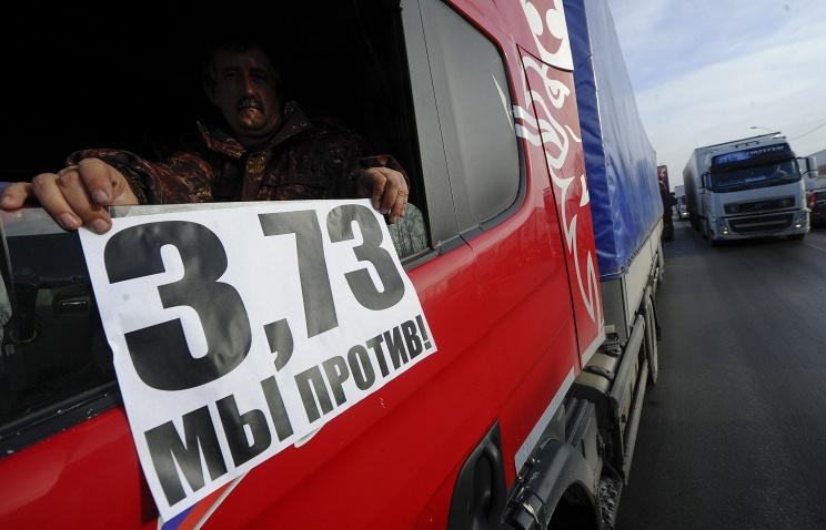 Соколов: частные перевозчики знали заранее о введении сборов с грузовиков