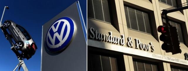 S&P вновь снизило рейтинг Volkswagen