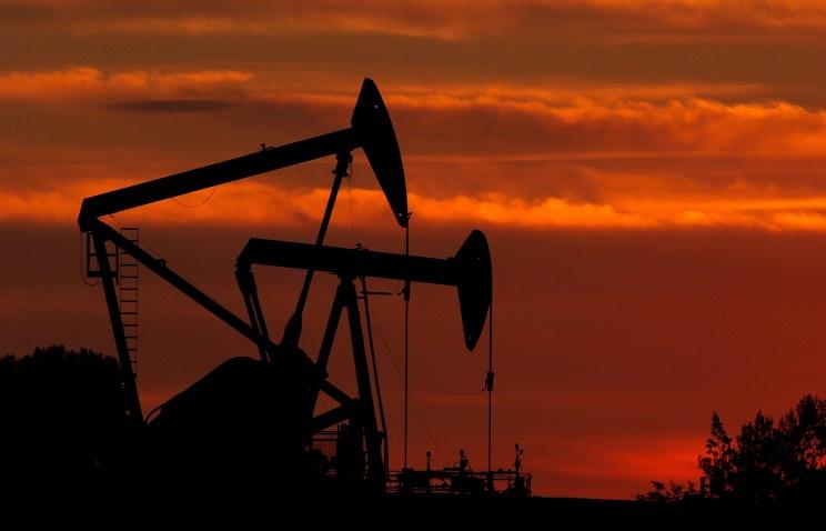 Цена на нефть сорта WTI упала до самого низкого уровня с февраля 2009 года