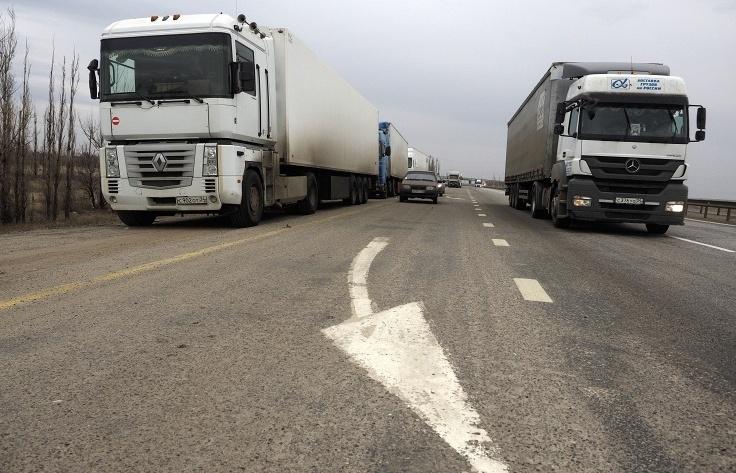 Россия и Украина могут возобновить грузовое автосообщение