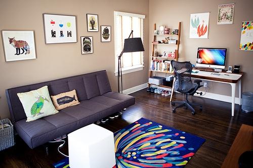 Как организовать рабочее место в квартире?