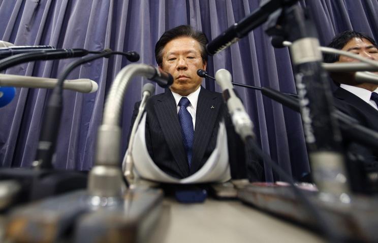 Глава Mitsubishi подаст в отставку на фоне «топливного скандала»