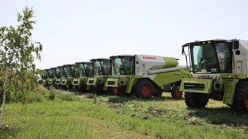 Немецкая Claas вложит 750 миллионов рублей в завод комбайнов в Краснодаре