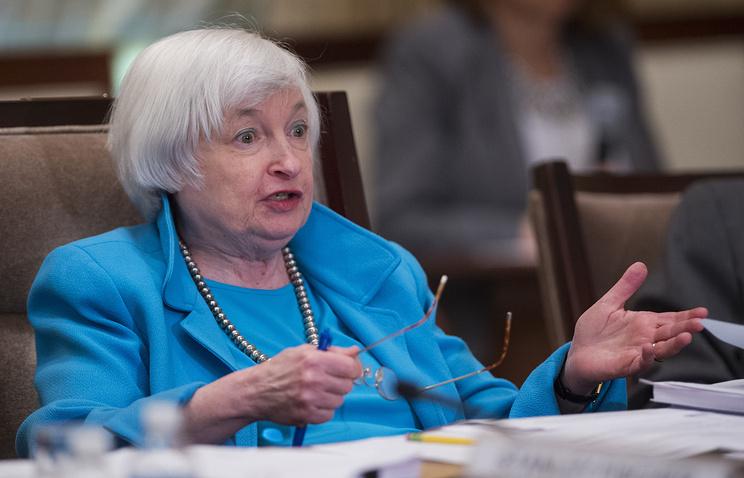 Глава ФРС считает уместным дальнейшее повышение учетной ставки