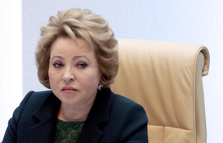 Матвиенко: условия кредитования для регионов должны быть мягче, чем для бизнеса