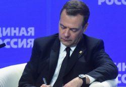 Медведев заявил о необходимости защиты экономики от резких колебаний