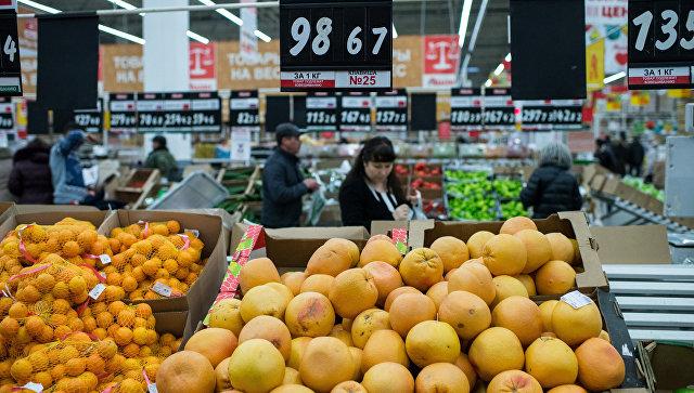 Правительство разрешило ввоз в Россию ряда продуктов из Турции