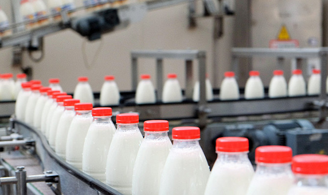 В России растет импорт соли и молока
