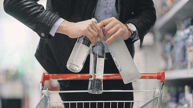 Производство водки выросло на 66% с начала года