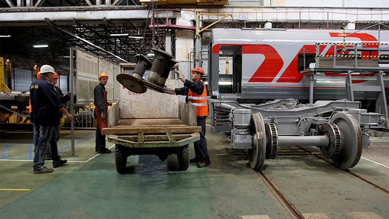 Перевозку грузов по железной дороге делают высокоскоростной