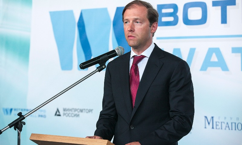 Мантуров «как глава Минпрома» заявил о поддержке ослабления рубля и назвал оптимальный курс