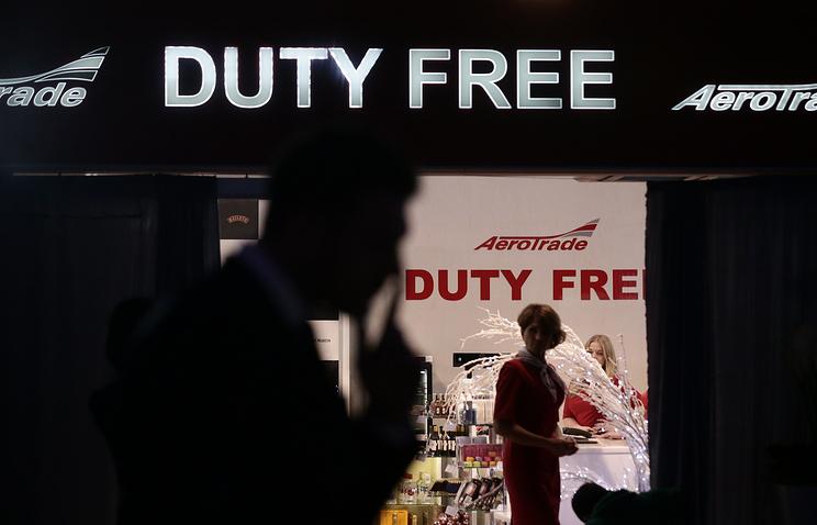 Магазины duty free могут появиться в российских аэропортах с 2018 года