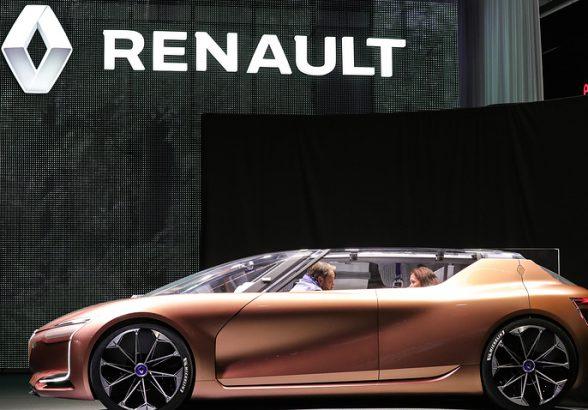 Франция продала часть своего пакета акций Renault