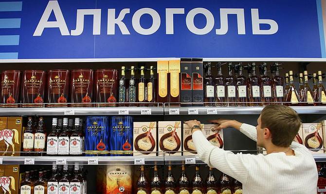 В РФ хлынули поставки алкоголя