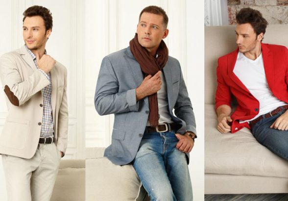 Стильная трикотажная одежда для мужчин