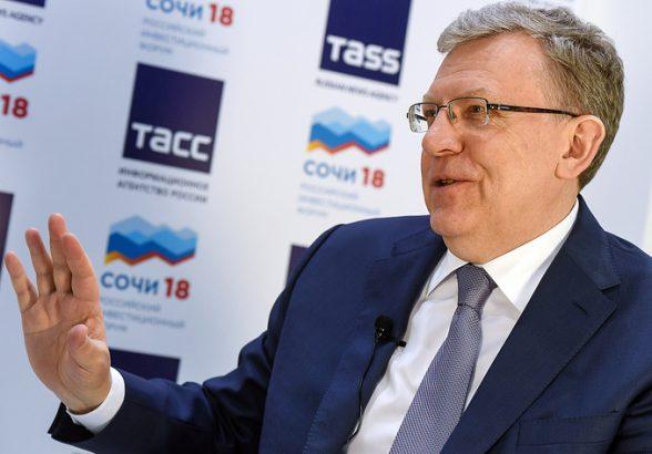Кудрин считает, что необходимости в повышении налогов нет