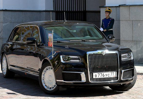 Минпромторг объяснил происхождение бренда Aurus для автомобилей линейки «Кортеж»