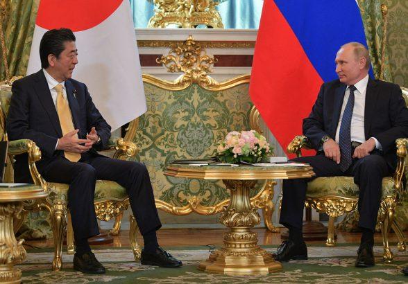 Путин: Россия и Япония проявляют обоюдный интерес к развитию отношений
