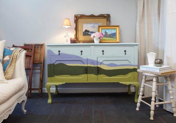Надоела старая мебель? Обновите ее самостоятельно