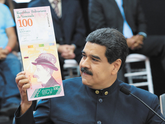 Президент Венесуэлы «привязал» национальную валюту к крипте