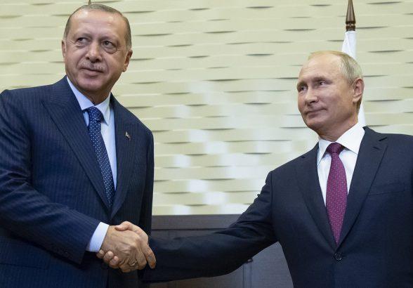 Путин и Эрдоган договорились о создании там демилитаризованной зоны