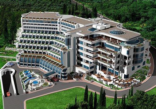 Архитектурное проектирование отелей