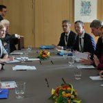 """Медведев и Меркель обсудили """"Северный поток — 2"""""""