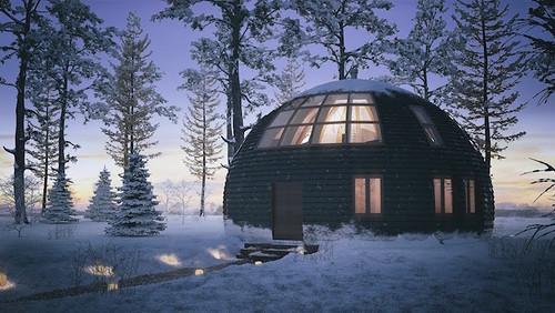 Плюсы и широкие возможности купольного дома
