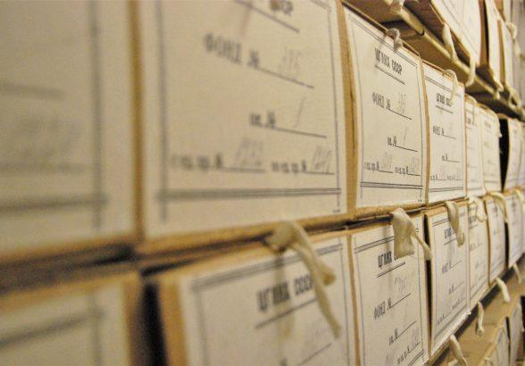 Передача документов в государственные архивные фонды