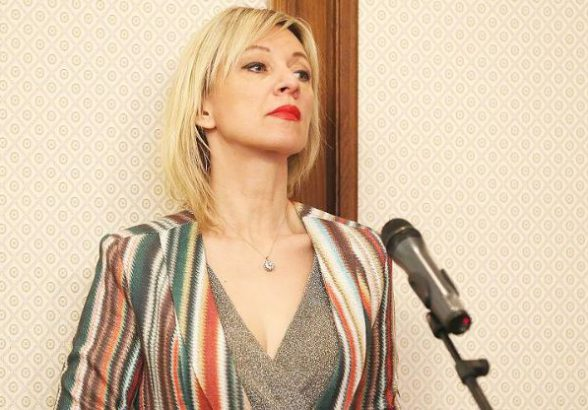 Захарова высмеяла реакцию альянса на послание Путина