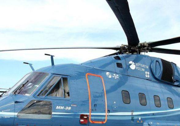 МО РФ получит первый вертолет Ми-38Т в июне