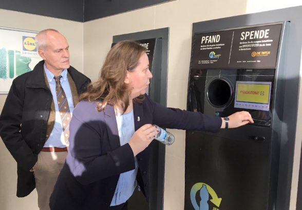 Автоматы по приему бутылок появятся в городах-миллионниках