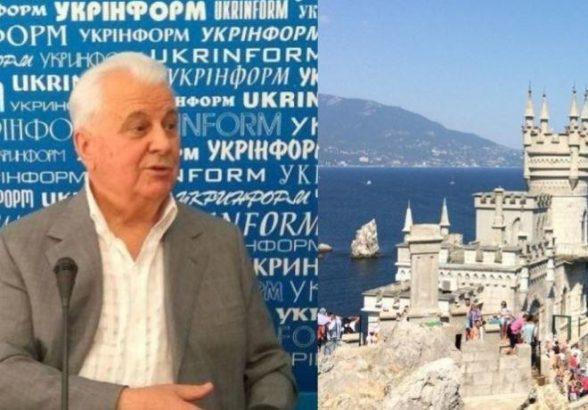 В Крыму уличили Кравчука в колониальном отношении к полуострову