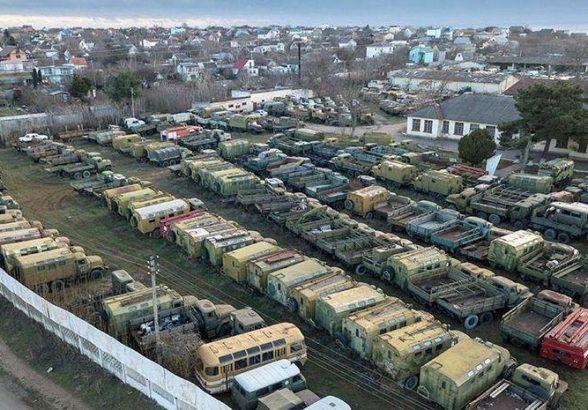 Украинская техника в Крыму будет утилизирована