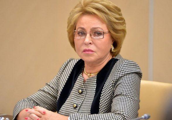 Матвиенко сравнила отношение России и Украины к Крыму