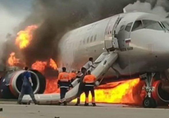 МАК реконструировал полет загоревшегося в «Шереметьево» самолета