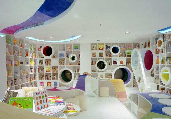 Открытие детского книжного магазина