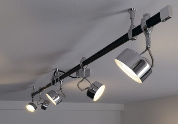 Трековый led светильник помощник в бизнесе