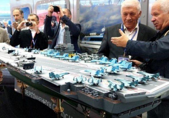 Стали известны возможные сроки строительства нового авианосца в России