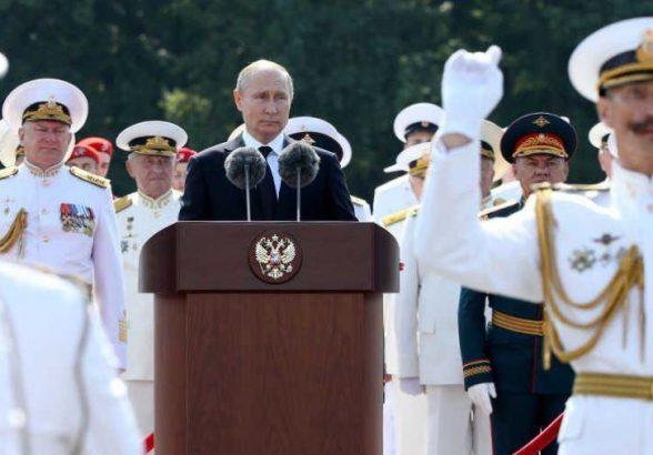 Путин поведал об обновлении ВМФ