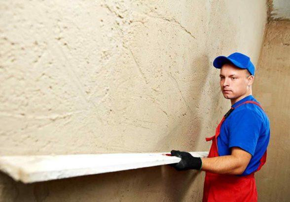 Штукатурные мероприятия: крайне важный этап любого ремонта. Машинная штукатурка в Киеве.