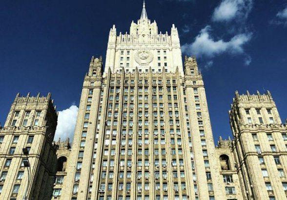 В МИД России из-за публикации Госдепа об акции в Москве вызван дипломат США