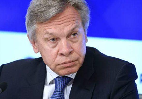 Пушков отреагировал на заявление Макрона о конце гегемонии Запада