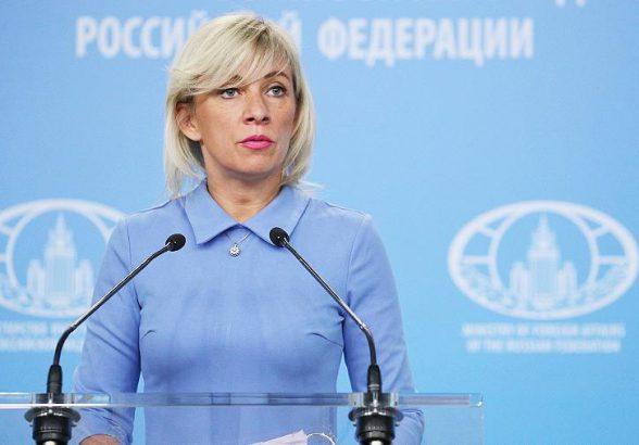 Захарова заявила об отсутствии обращений Атамбаева по поводу приезда в Россию