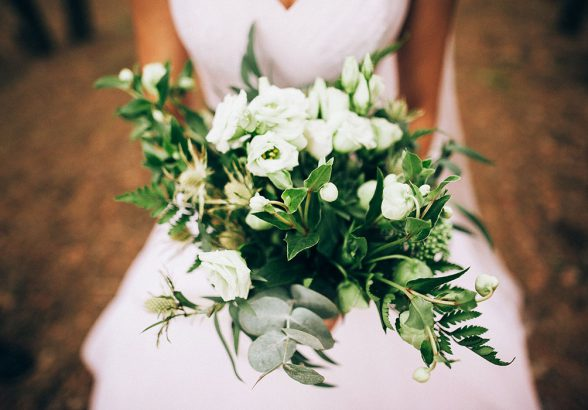 Свадебный букет — особенности составления