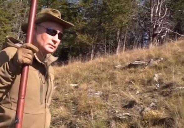 Путин в компании Шойгу побывал в тайге