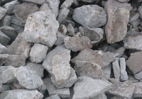 Вторичный бетонный щебень