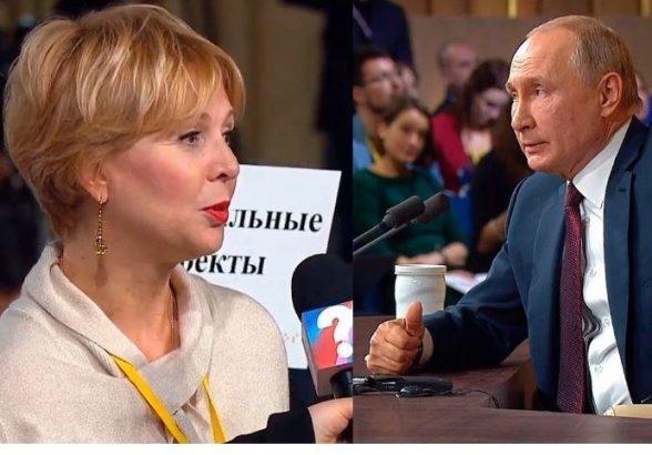 Путин поведал, какими качествами должна обладать женщина-президент